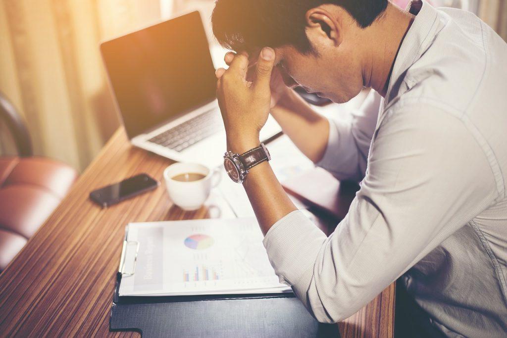 精神疾患による就業不能状態
