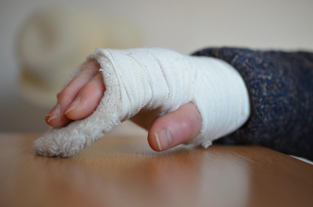 骨折後の保険加入